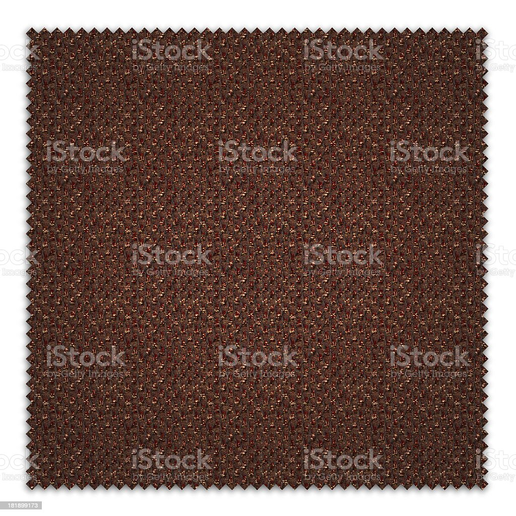 Gold Argyle Textile Swatch royalty-free stock photo
