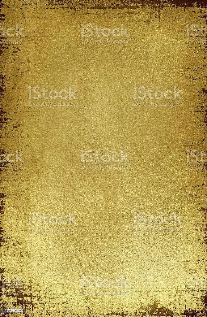 Gold background with texture stock photo