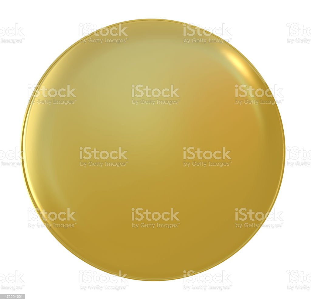 gold badge stock photo