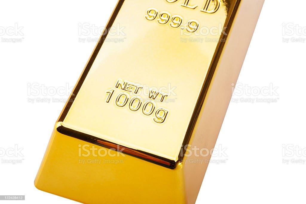 Gold Bar. royalty-free stock photo