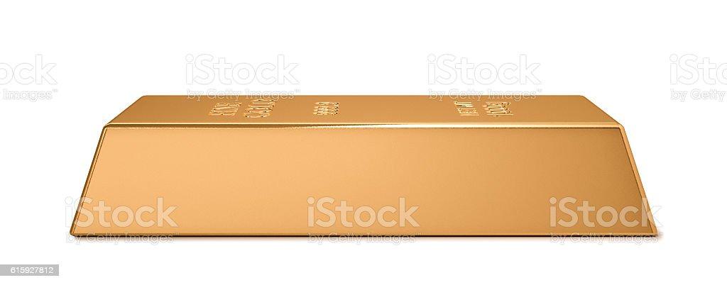 Gold bar series stock photo