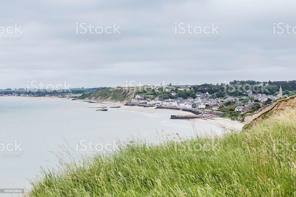 Gold Beach – Arromanches, Normandy, France stock photo