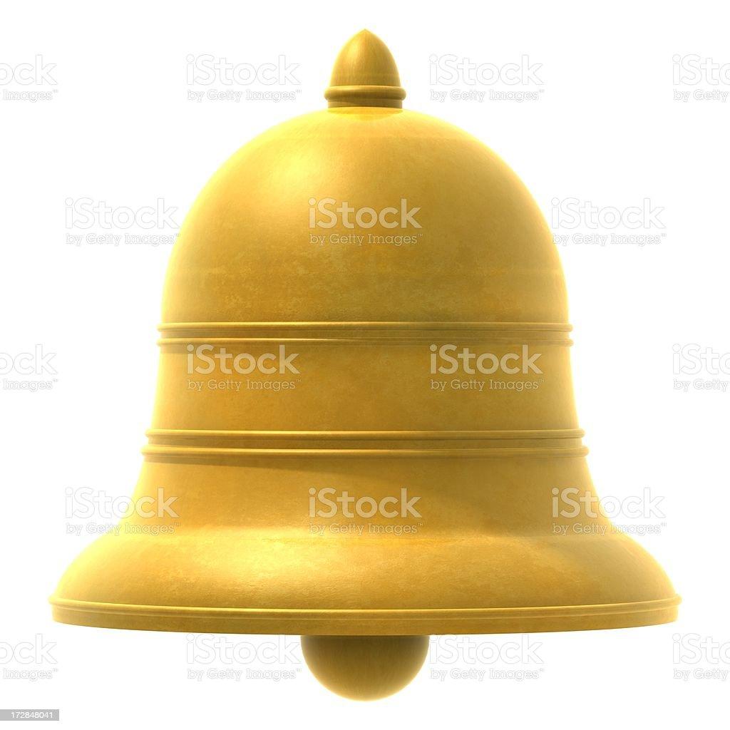 ゴールドの鈴 ロイヤリティフリーストックフォト