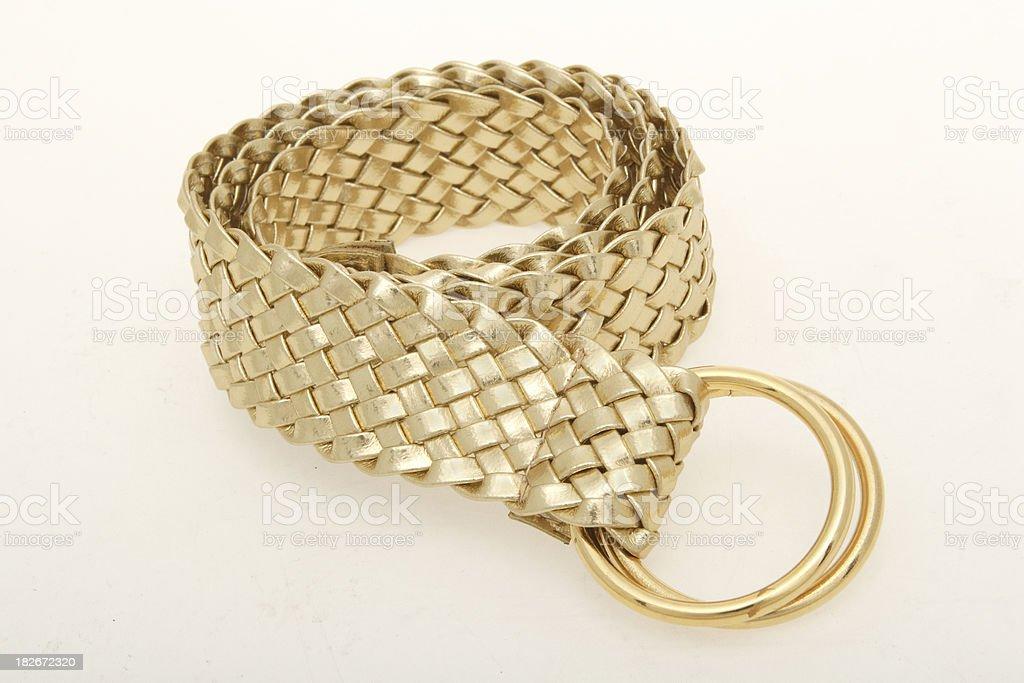 gold belt royalty-free stock photo