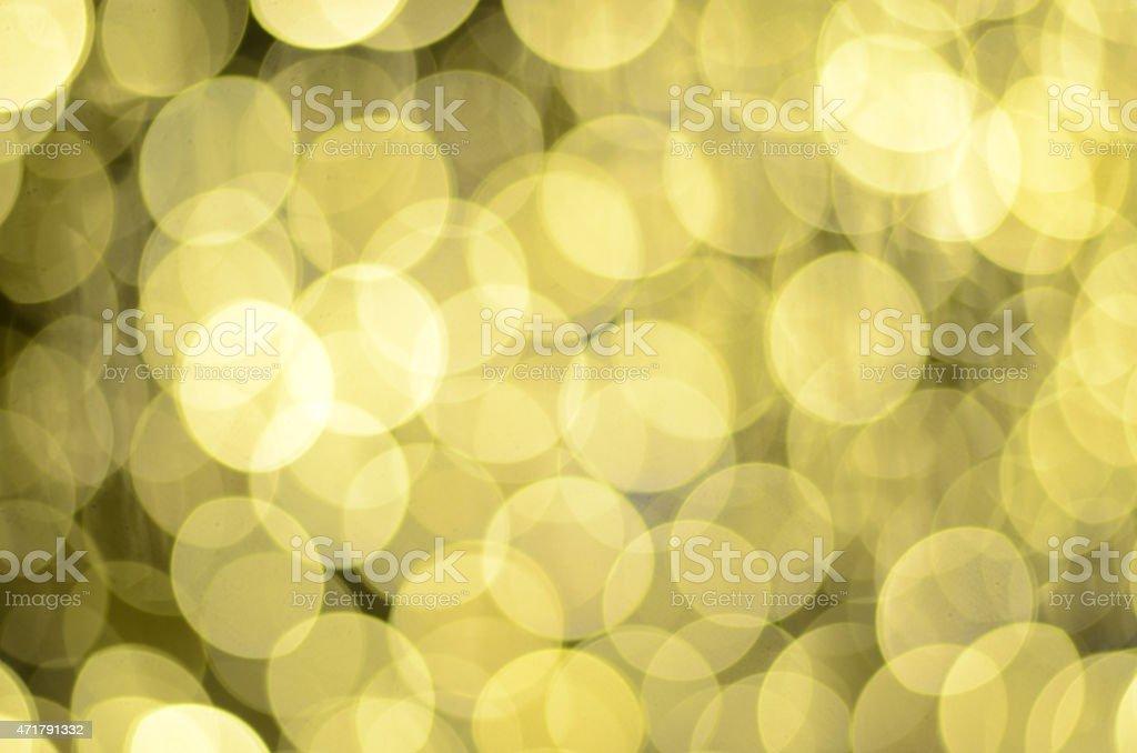 Oro fondo bokeh foto de stock libre de derechos