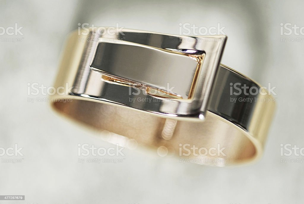 Gold Bracelet royalty-free stock photo
