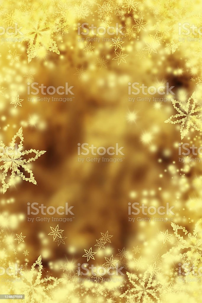 gold christmas background royalty-free stock photo