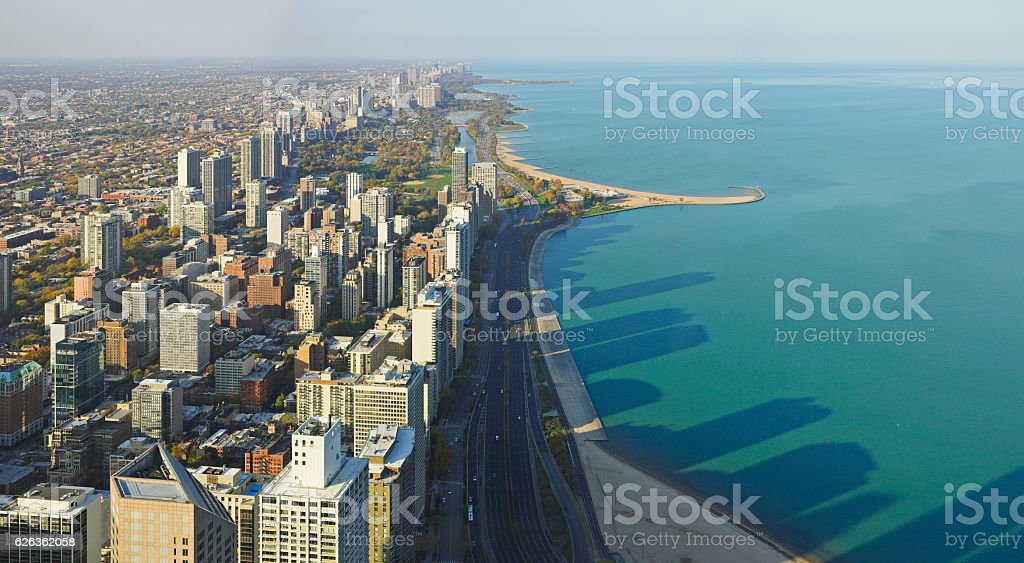 Gold Coast - Chicago stock photo