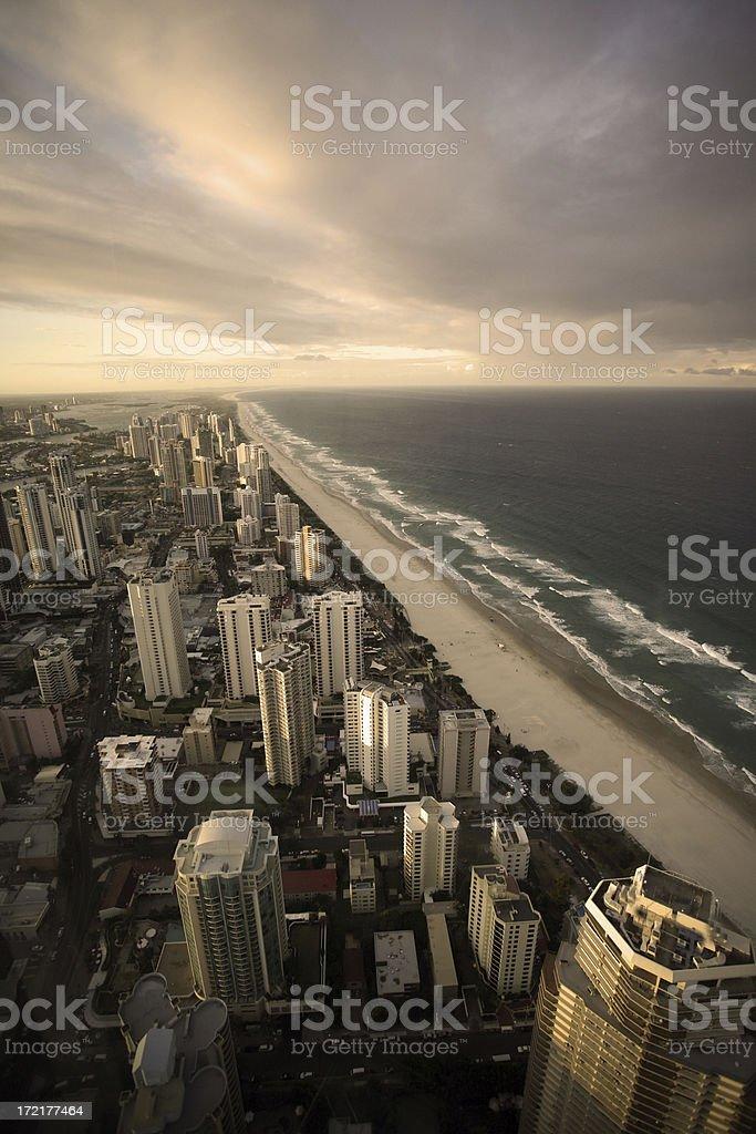 gold coast royalty-free stock photo