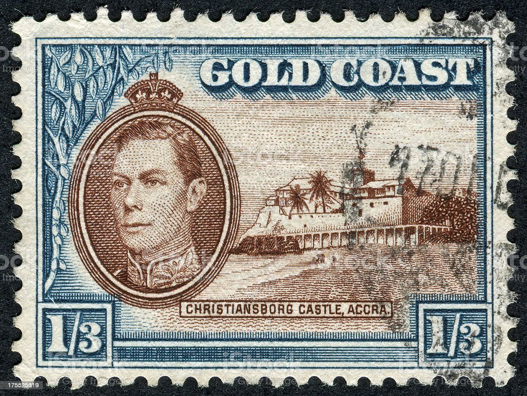 Gold Coast Stamp stock photo