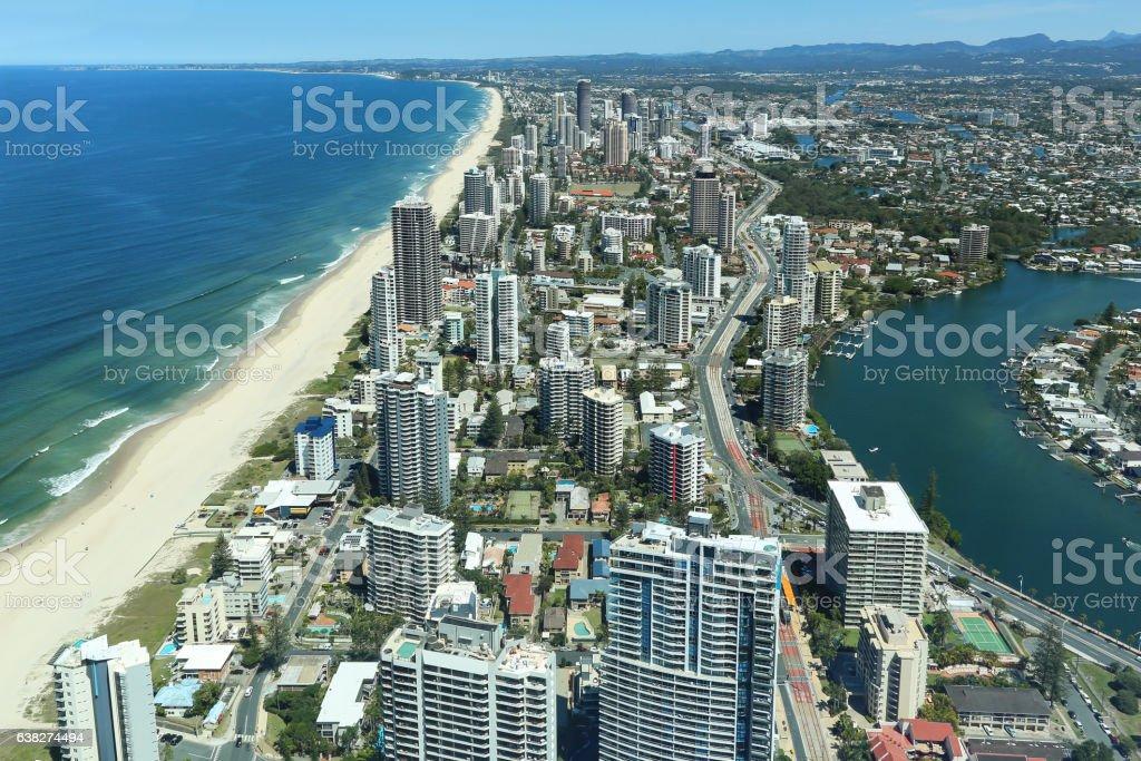 Gold Coast, Surfers Paradise stock photo