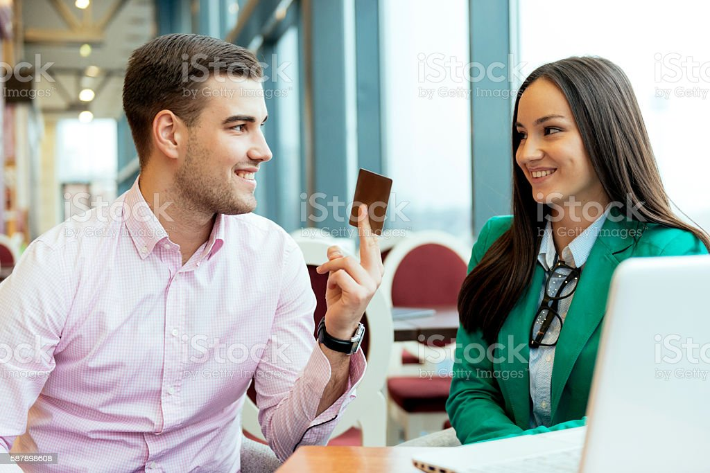 Gold credit card with no limit stock photo