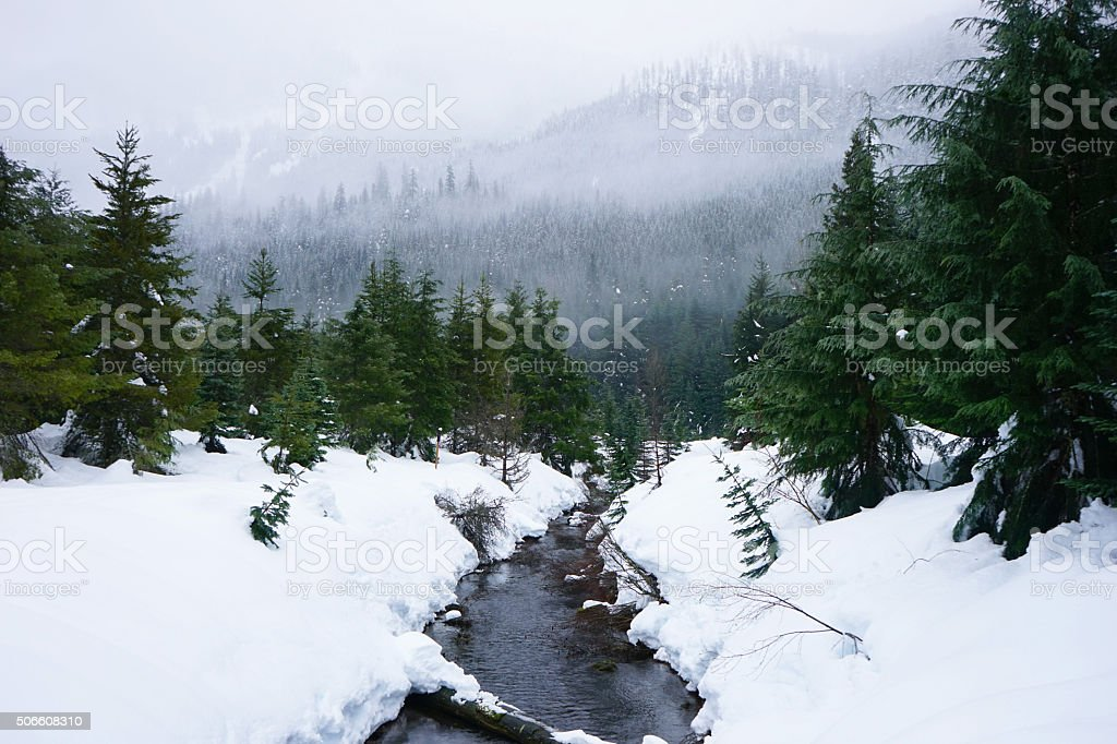 Gold Creek stock photo