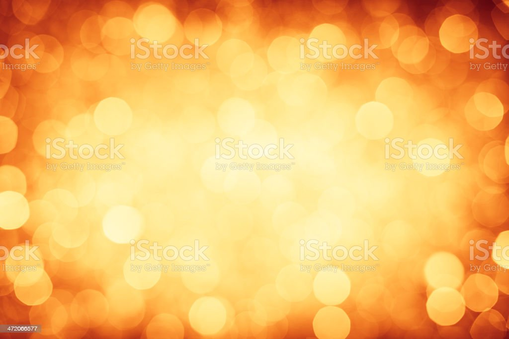 Gold defocused lights background royalty-free stock photo