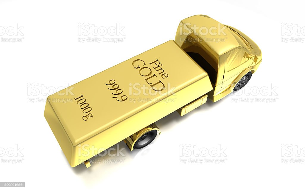 Gold Exports stock photo