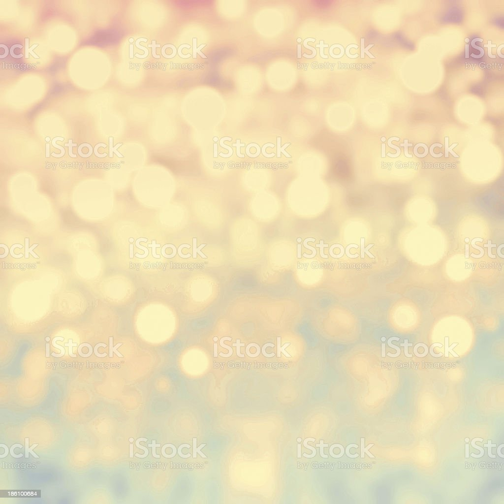 Gold Festive Christmas background. Abstract twinkled  bright bac stock photo