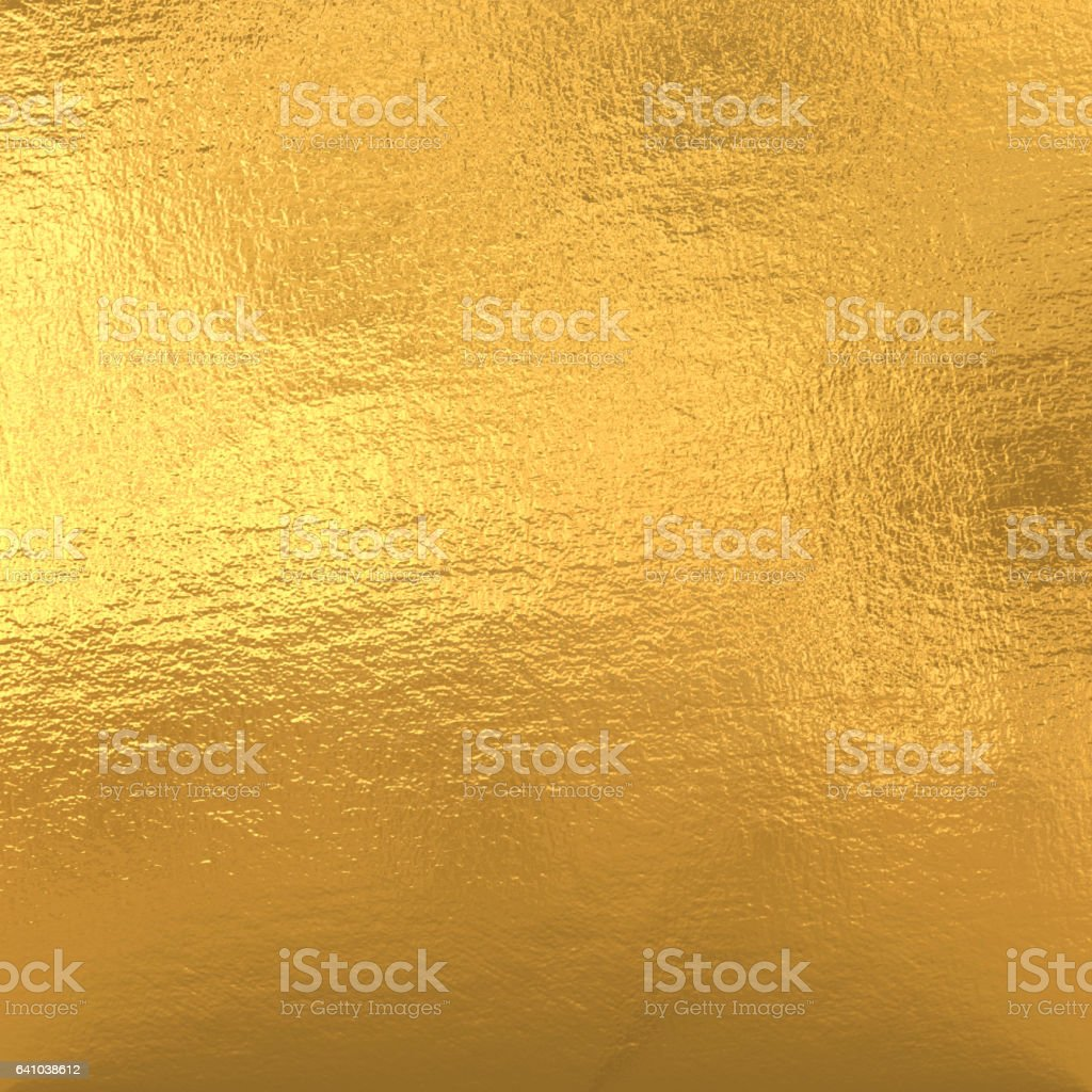 Gold foil stock photo