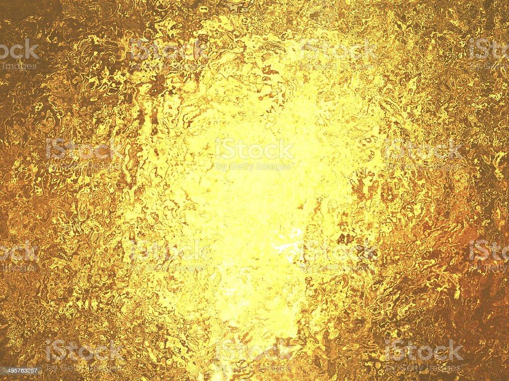 Gold foil wonderful metallic background stock photo