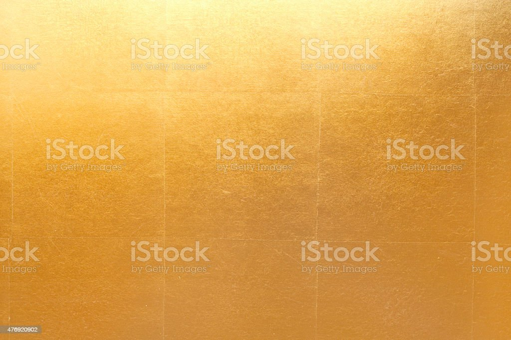 Gold folding screen paper stock photo