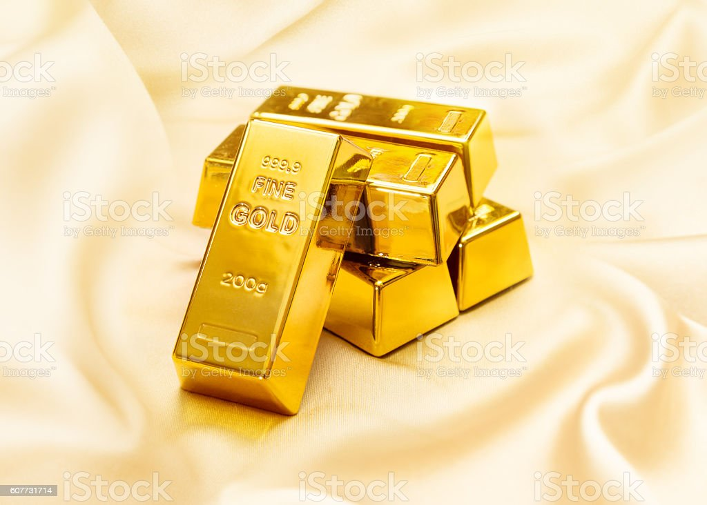 Gold fortune stock photo