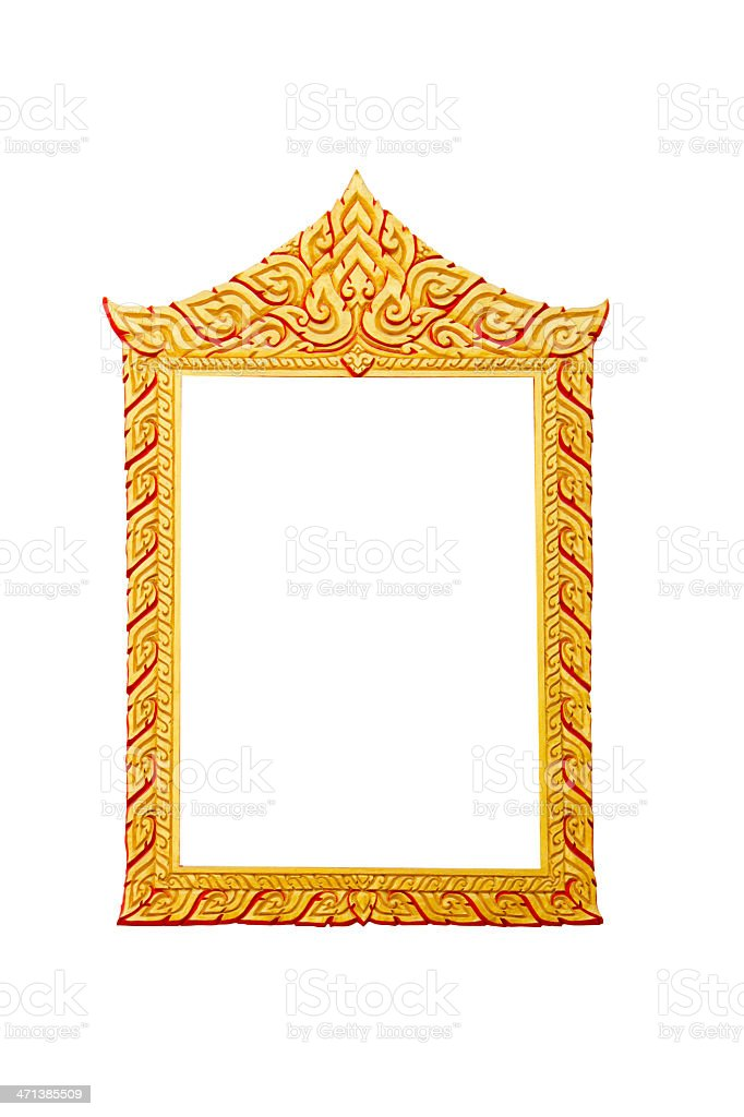gold frame. royalty-free stock photo