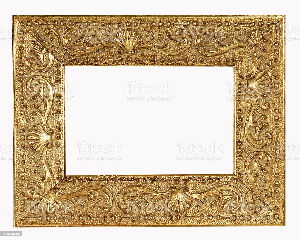 Gold Frame royalty-free stock photo