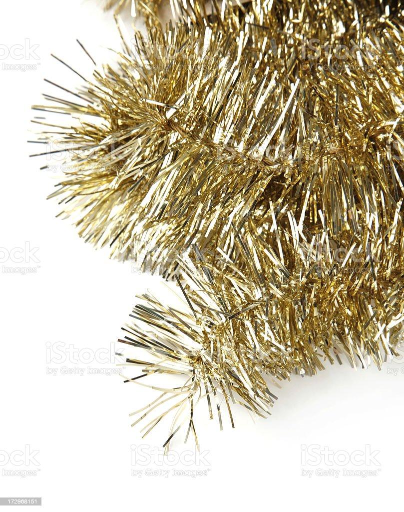 Gold Garland royalty-free stock photo