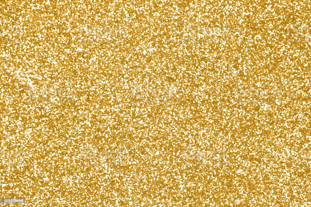 Elegant gold glitter sparkle confetti background or party invite for...