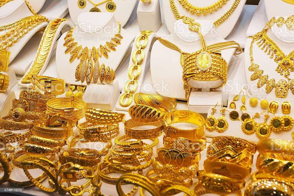 Gold. Grain added stock photo