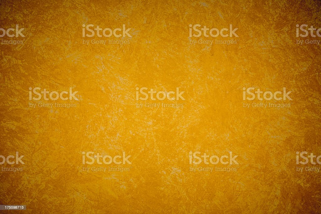 Gold Grunge Rag Painted Textured Background royalty-free stock photo