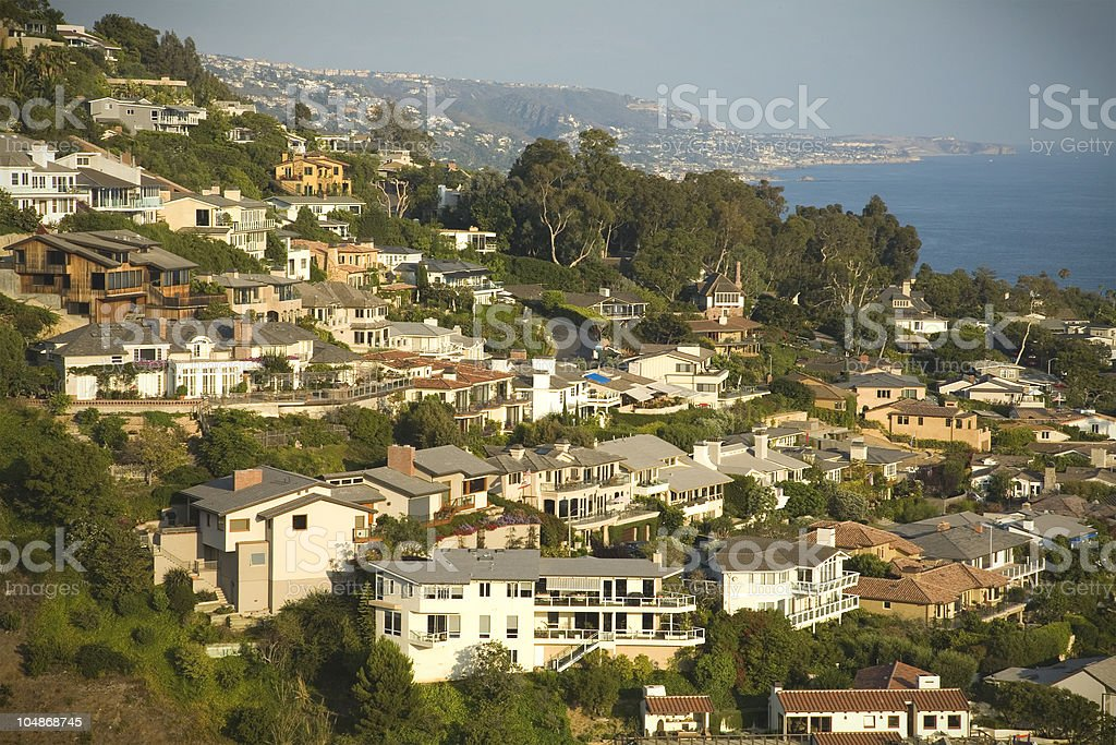 Gold hill stock photo