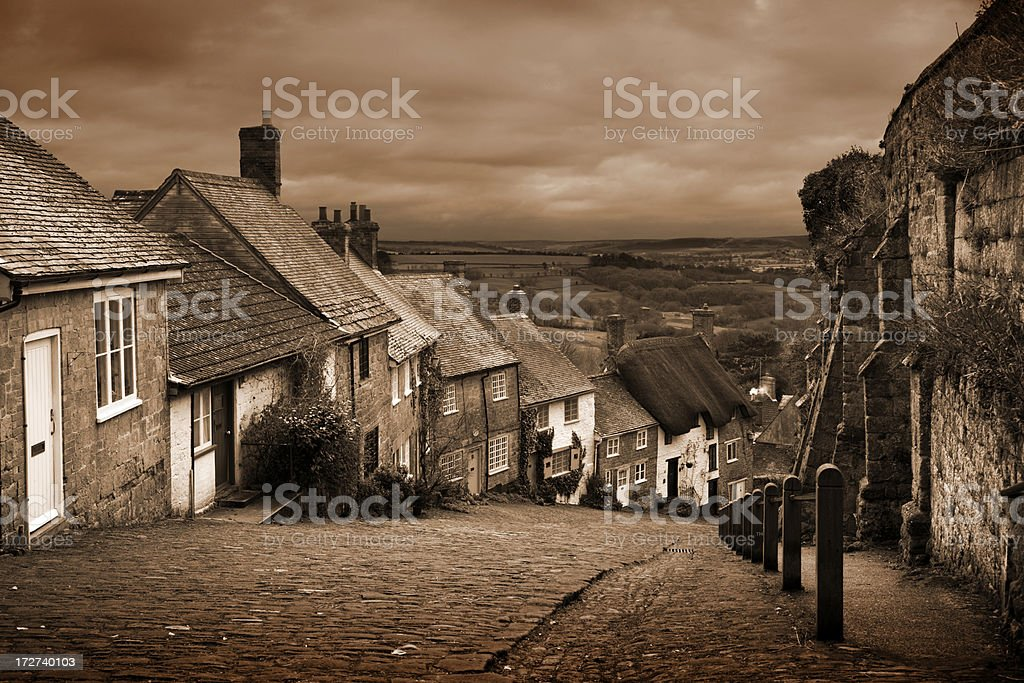 Gold Hill royalty-free stock photo