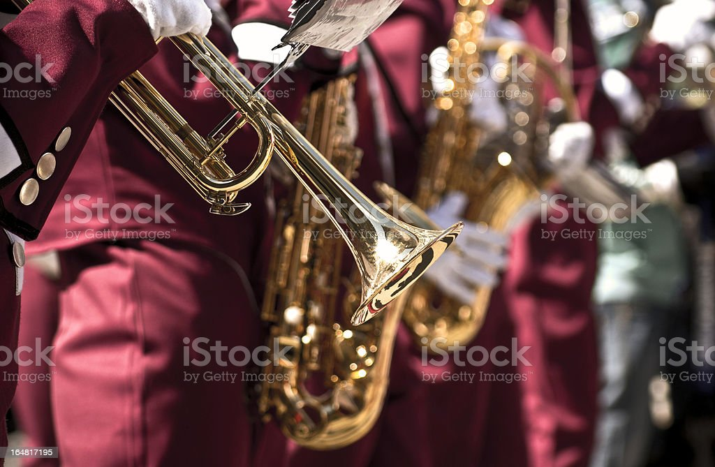 Gold instrument royalty-free stock photo