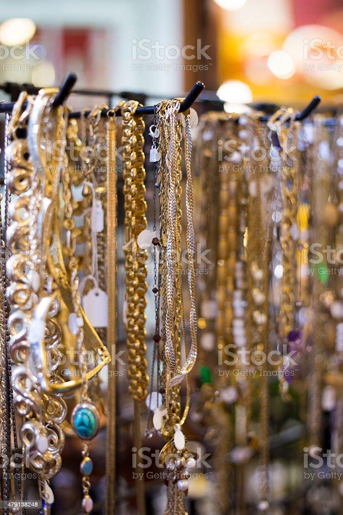 Gold Jewelry stock photo
