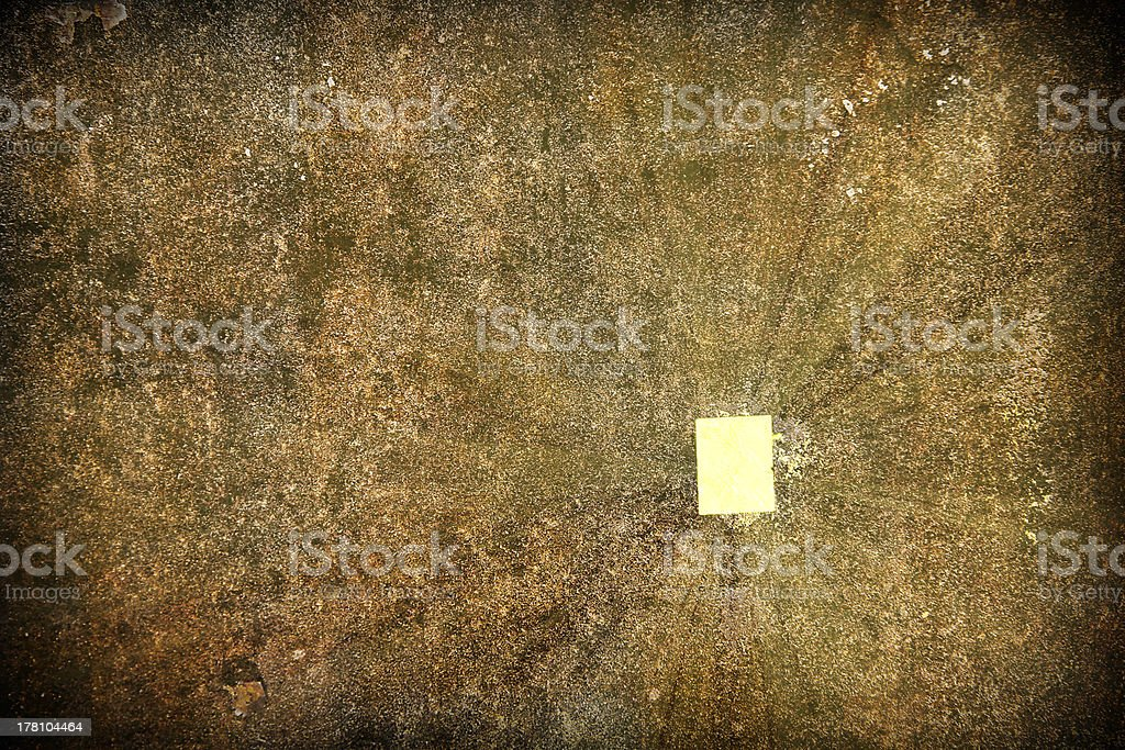 gold leaf on the rock royalty-free stock photo