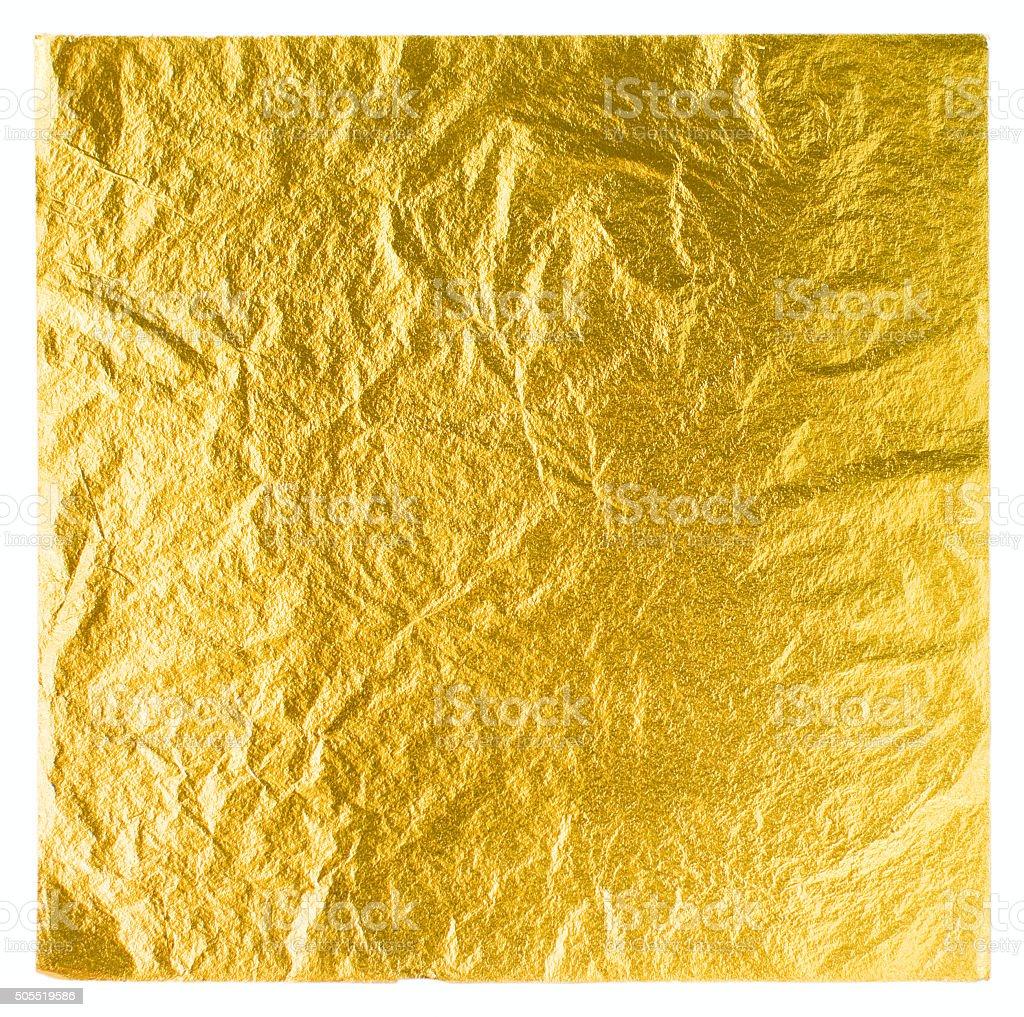 gold leaf stock photo