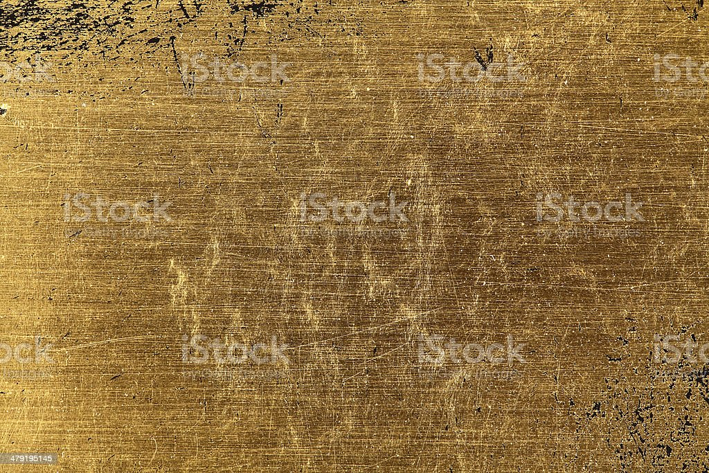 Gold leaf texture stock photo