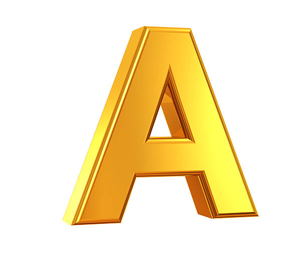 Lettre A on Letter N