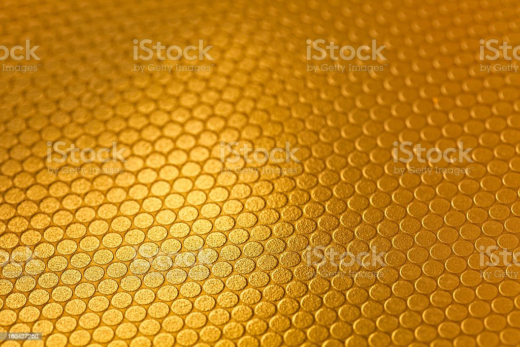 gold Mesh royalty-free stock photo