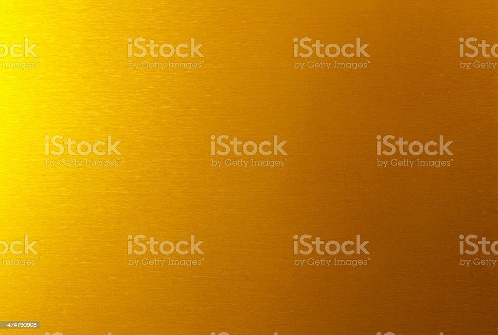 Gold metal texture stock photo