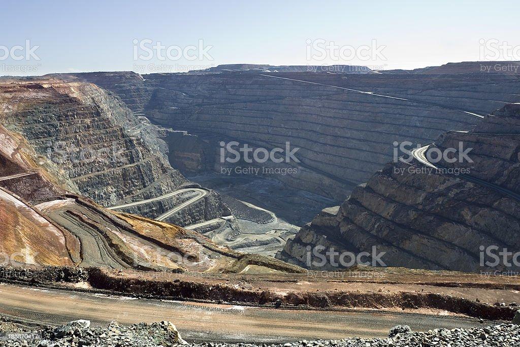 Gold Mine royalty-free stock photo