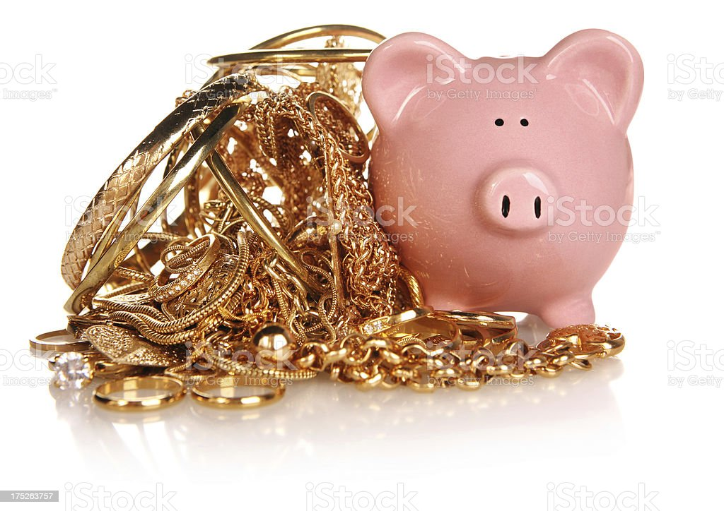 Gold Money royalty-free stock photo
