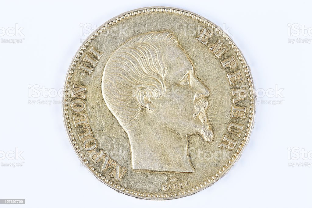 gold Napoleon stock photo