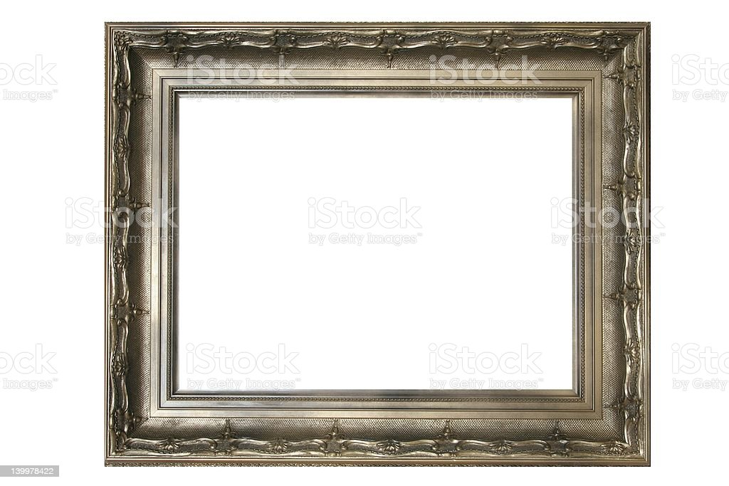 Gold old Frame #2 stock photo