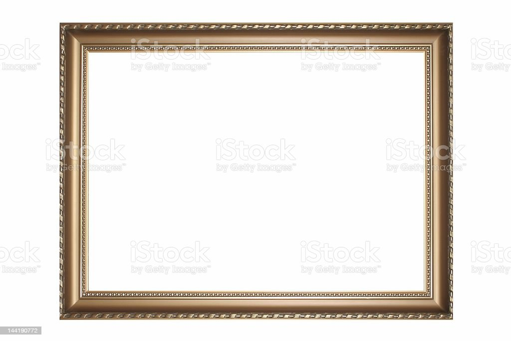 Gold old Frame #5 royalty-free stock photo