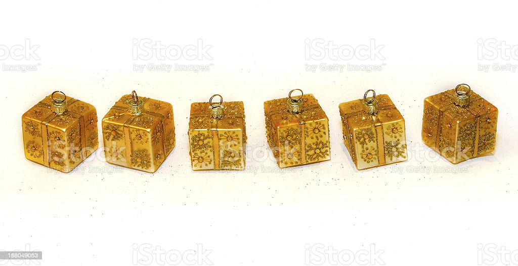Gold ornaments royalty-free stock photo