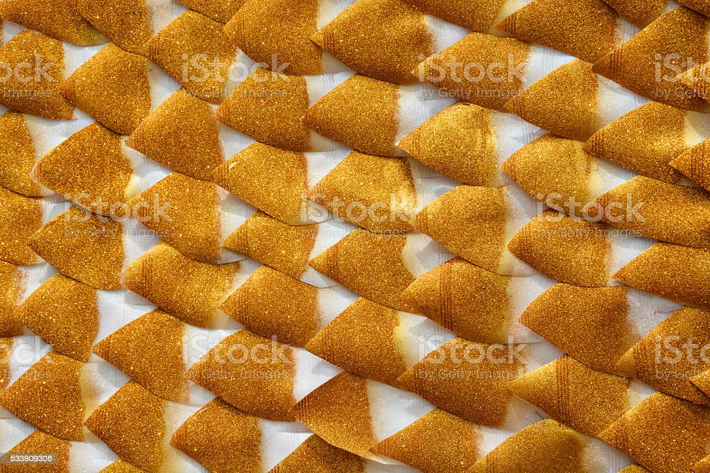 Gold paper on white background royalty-free stock photo