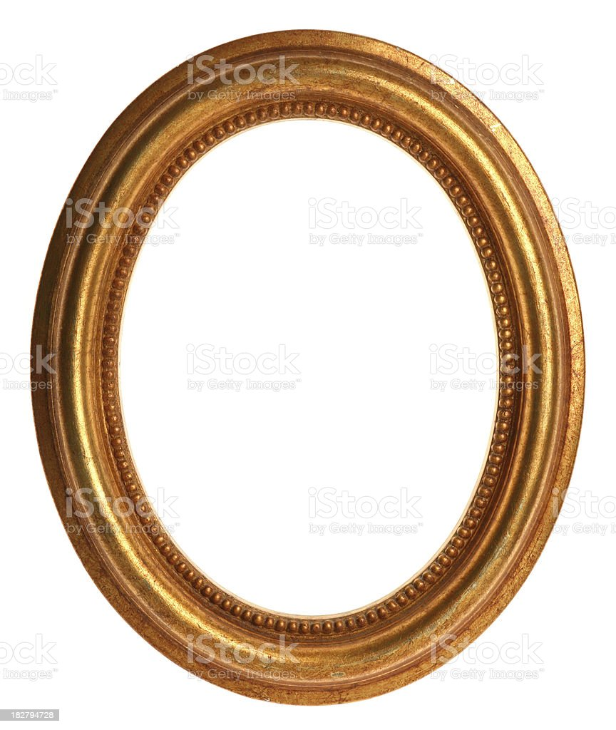 Gold Picture Frame stock photo