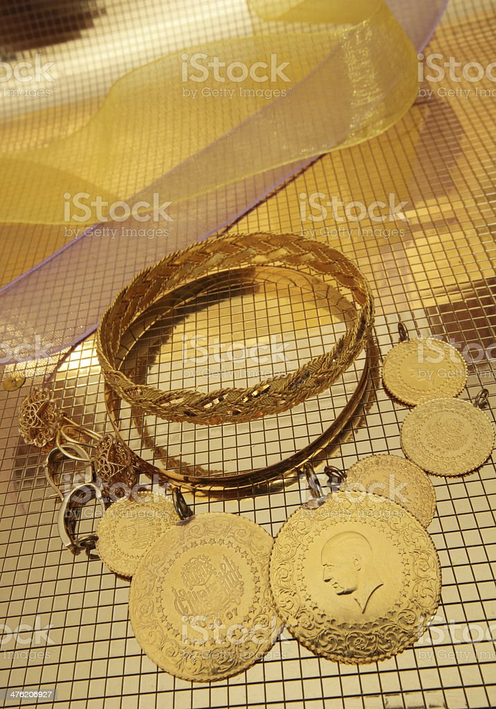 Gold royalty-free stock photo