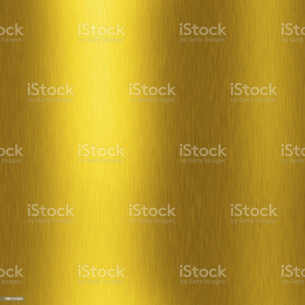 gold plate with reflection royalty-free stock photo